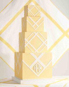 7 Handkerchief-Inspired Wedding Cakes That Are Sew Sweet | Martha Stewart Weddings