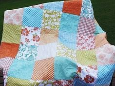 Wedding Guest Book Quilt Patchwork YOU Pick by southerncharmquilts, $159.00