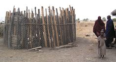 traditional african fence - Google Search