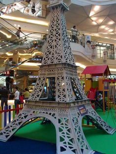Eiffel Replica; @Paragon City Mall - Semarang