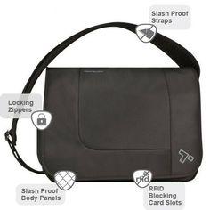 Anti-Theft Urban  E/W Messenger Bag