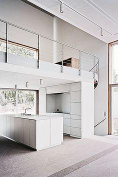 cknd:   Modern concrete residence designed by Architekturbüro...