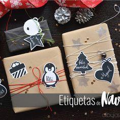 Una idea para envolver nuestros regalos estas fiestas. Sólo necesitamos un lazo y un cordón para realizar este bonito Packaging Navideño.