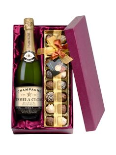 Personalised Champagne & Chocolates | very.co.uk