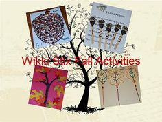 FallTrees and Leaves Activities for Kids - free acorn craft template, 5 Little Acorns Literacy/Poem, Counting Sticks, and more!
