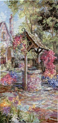 Pegasus Originals Wishing Well Garden Counted Cross Stitch Chart Pack by Pegasus Originals,