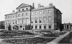 LOST ENGLAND: Lathom, the finest Palladian mansion in Lancashire, lost after the 3rd Earl sold up in 1925