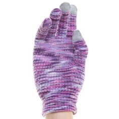 Conductive Gloves Women's Prpl, $13, now featured on Fab.