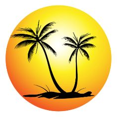 38 palm tree sunset clipart decals clipart etc pinterest rh pinterest com sunset clipart images beach sunset clipart free