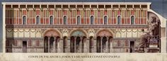 Roman/Byzantine architecture illustrations, portraits and Scenes, by Antoine Helber