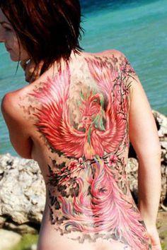 Tats - My best tattoo list Dream Tattoos, Badass Tattoos, Hot Tattoos, Body Art Tattoos, Girl Tattoos, Tattoos For Women, Phoenix Tattoo Girl, Phoenix Tattoo Feminine, Phoenix Tattoos