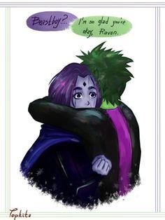 Beast Boy x Raven