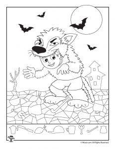 Halloween Hidden Picture Printable Games | Woo! Jr. Kids Activities : Children's Publishing