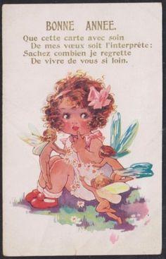 AGNES RICHARDSON card | eBay...❤️ my  pretty, sweet, darling Vylette Moon ❤️