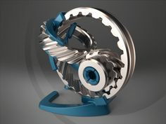 Clockwork by Moran Goldstein, via Behance