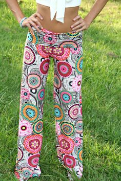 Sweet Caroline Pink Yoga Pants - $30.00 (at first I felt bad pinning this as fug, but then I saw the price and realized they are trying to sell this thing)