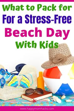 Beach Hacks for What to Pack for a Beach Day with Kids. Make it a stress-free family day at the beach by being prepared. Use these clever beach tips to be ready for your day. Everything you need to pack plus cool hacks to keep your phone dry, hide your valuables, get the sand off, and more. #beachtips #beachhacks #beachday Family Vacation Destinations, Beach Vacations, Vacation Ideas, Travel Destinations, Beach Tips, Beach Hacks, Beach Activities, Travel Activities, Free Beach