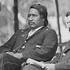Perhaps the most famous Native American to serve with the Union Army was Ely S. Parker, born Hasanoanda, later known as Donehogawa. He was a full blooded Seneca of the Iroquois Nation. He was a member of General Grant's staff and was appointed as the military secretary to Grant, with the rank of lieutenant colonel. He wrote much of Grant's correspondence.
