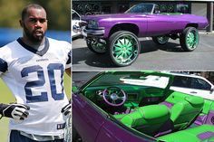 Darren McFadden – Buick Centurion, Estimated $100K Darren McFadden, Dallas Cowboys' running backhas a very eclectic taste in cars with over 6 vehicles including a silver Bentley Continental GT, a Cadillac Escalade and the showstopper 1973 Buick Centurion with tricked-out oversized wheels. The Buick itself costs around $30,000 but McFadden spent a small fortune withRead More