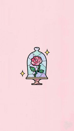 Wallpaper rose rosa - Nachtliebe - Beauty & the Beast - Wallpaper Cute Wallpaper Backgrounds, Wallpaper Iphone Cute, Aesthetic Iphone Wallpaper, Aesthetic Wallpapers, Beauty And The Beast Wallpaper Iphone, Wallpaper Wallpapers, Cute Tumblr Wallpaper, Unique Wallpaper, Kawaii Wallpaper