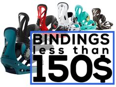 Check out my list of cheap snowboard bindings. Snowboard Bindings, Budgeting, Budget Organization