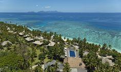 Vomo Island Resort in Lautoka, Fiji - All Inclusive Deals Fiji Island Resorts, Fiji Islands, Fiji All Inclusive, Hillside Villas, Fly To Fiji, Visit Fiji, Fiji Beach, Adventure Of The Seas, Luxury Holidays