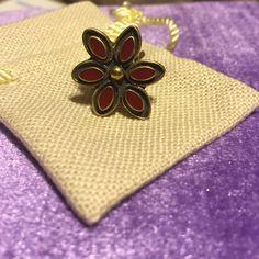 Sunahara Flower Midi Ring