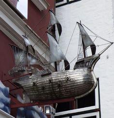 Silbernes Schiff, Flensburg - Foto: S. Hopp