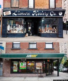 Lismore Hosiery, on Grand and Ludlow streets, has been replaced by a Subways.