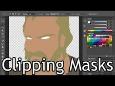 Retouching Tutorial: Practical Use of Clipping Masks in Adobe Photoshop - YouTube