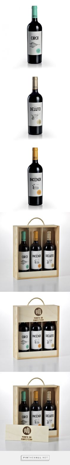Quinta da Confeiteira Wines - Packaging of the World - Creative Package Design Gallery - http://www.packagingoftheworld.com/2016/10/quinta-da-confeiteira-wines.html