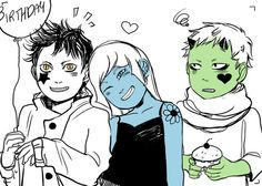 """Cassandra Jean Cassandra Clare I was going to draw something serious when SUDDENLY LITTLE MAGNUS AND FRIENDS<---The little friends are Ragnor Fell and Catarina Loss. Cassandra Jean, Cassandra Clare Books, Mortal Instruments Books, Shadowhunters The Mortal Instruments, Malec, Fanart, Percy Jackson, Ragnor Fell, Shadowhunter Academy"