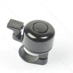 [Visit to Buy] 1pc Metal Ring Handlebar Bell Sound for Bike Bicycle Black #Advertisement
