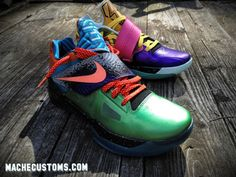 "new concept 6a31b 9c9bd Nike Zoom KD IV ""What the KD"" Sneaker Art, Sneaker Games, Nike"