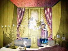 From Wikiwand: Depiction of a Jewish High Priest wearing Hoshen and Ephod included as an illustration in a Christian Bible; the Holy of Holies is in the background Holman Bible) Cannabis, Third Temple, Mercy Seat, Israel, Real Academia Española, Temple In Jerusalem, Plan Of Salvation, Yom Kippur, Body Armor