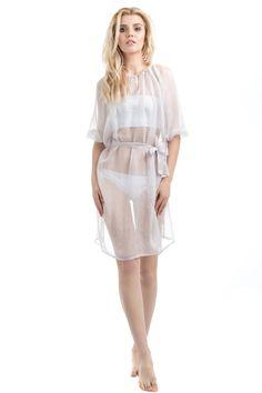 Short Dress Lavande из 100% натурального шелка