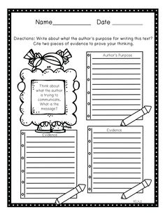 close reading planning template - 1st grade common core tools for close reading assessment