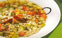 Receta de sopa escocesa