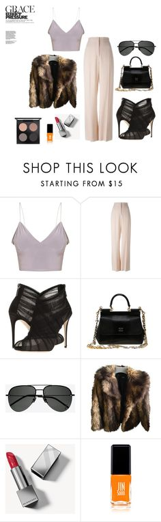 """philly"" by natalieordnz on Polyvore featuring STELLA McCARTNEY, Dolce&Gabbana, Yves Saint Laurent, ASOS, Burberry, JINsoon and MAC Cosmetics"