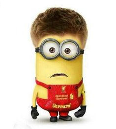 stevie g in minion form