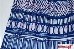 Bio-Stoffe - Lillestoff Bio Jersey Sommerjersey, Ink - ein Designerstück von frauschneidergmbh bei DaWanda