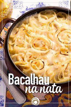 Bacalhau Recipes, Lemon Garlic Sauce, Cooking Recipes, Healthy Recipes, Portuguese Recipes, Caramel Apples, Carne, Macaroni And Cheese, Seafood