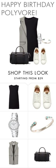 """""""Bez naslova #174"""" by nely01 ❤ liked on Polyvore featuring Rosetta Getty, H&M, FOSSIL, Topshop, women's clothing, women's fashion, women, female, woman and misses"""