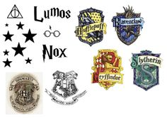 Lumos Nox and other Harry potter sticker templates https://www.youtube.com/watch?v=cejzB7UkupE