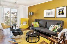 El amarillo en la decoración