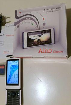 Sony Ericsson Aino U10i - Glänzendes Weiss (Ohne Simlock)Slider. OVP