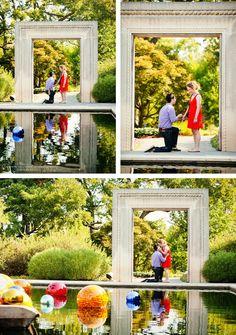 Dallas Arboretum family photos