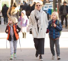 The kids:They share custody of son's Alexander, 9 and Samuel, 8...