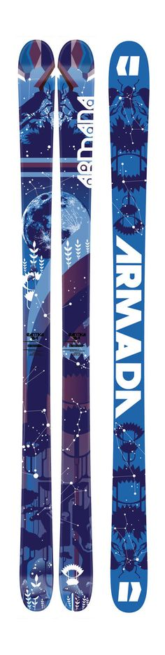 Armada Cantika All Mountain Skis On Sale - What a sale, what a ski - designed by pro women skiers, and only $399.99