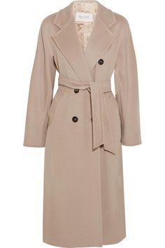 классическое двубортное пальто Max Mara